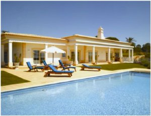 Porches - Imobiliário - Vendas - Casas de Luxo - Luxury Four Bedroom Villa all en-suite with wonderful views of Porches and countryside surrounded by fantastic landscape gardens and water features - ID 6413