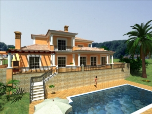 Imobiliário - Vendas -  Moradias - Beautiful 4 bedroom Villa in Sao Bras - ID 5724