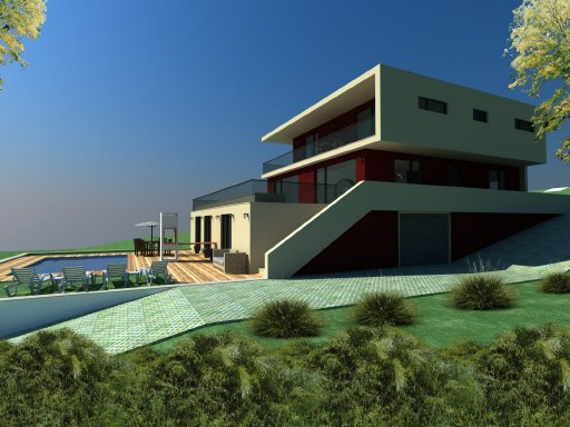 Imobiliário - Vendas -Terrenos - Single Home Plot with approved project for a modern T4 villa. - ID 6572