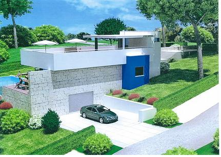 Imobiliário - Vendas -Terrenos - Wonderful plot with planning permission for a modern villa - ID 6568