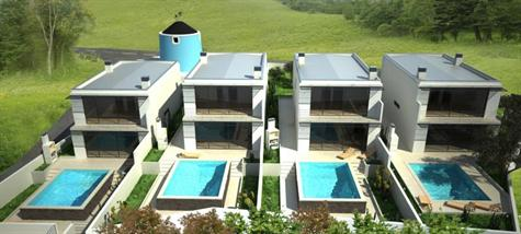 Imobiliário - Vendas - Casas - 4 Contemporary villas with beautiful views - ID 4496