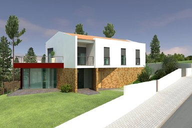 Pinhal Fanheira - Imobiliário - Vendas -  Moradias - 3 Bedroom villa to finish with beautiful countryside views. - ID 5478