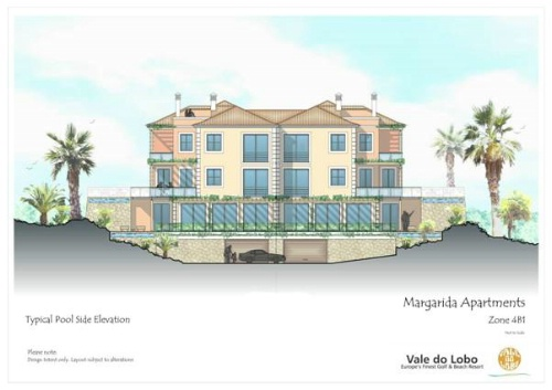 Imobiliário - Vendas - Propriedades no Golfe - Two Bedroom Apartment Under Construction - ID 6346